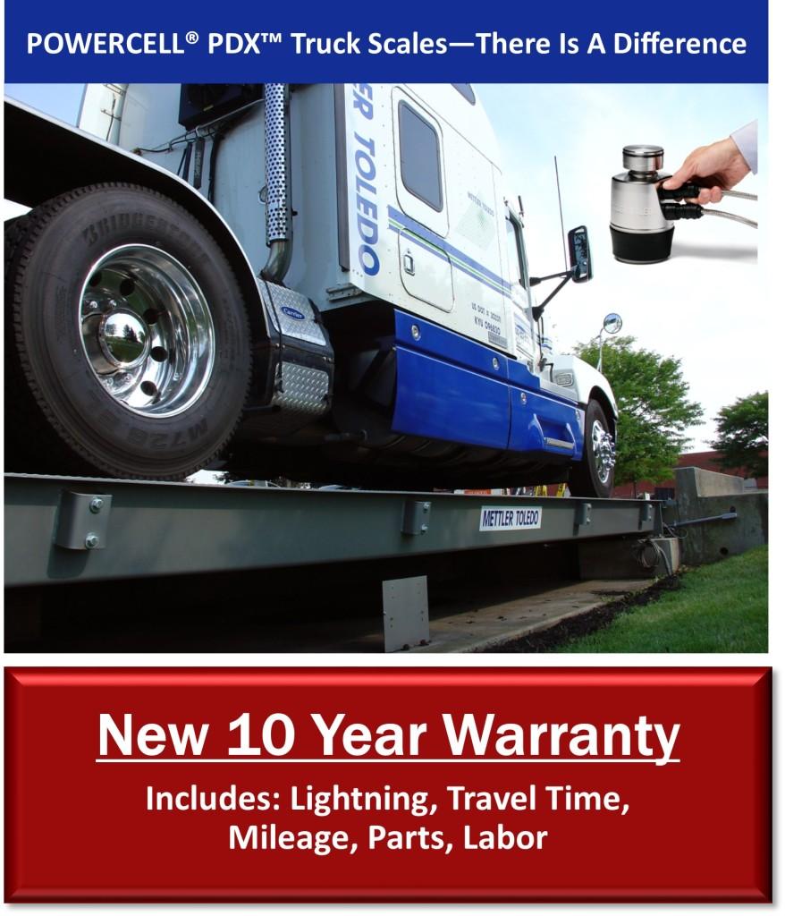 Truck Scale Warranty