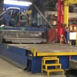 MT Steel Deck Scale Wheelabrator