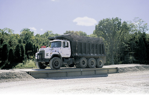 rental truck scale