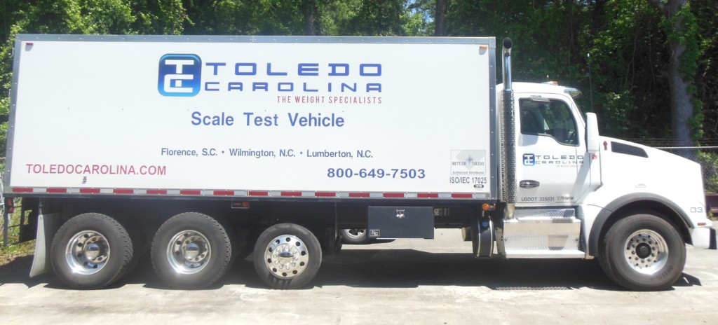 Weighing Scale Testing Truck