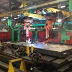 MT Steel Deck Scale Robotic Seamless Welding