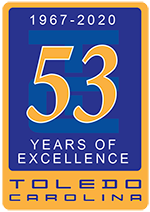 53rd Anniversary Logo